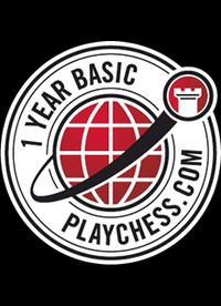 Playchess.com Membership - Basic Serial Number One Year