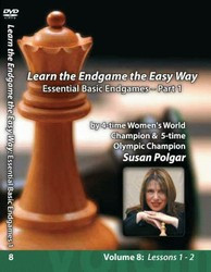 Susan Polgar,  8: Essential Basic Chess Endgames Part 1 DVD