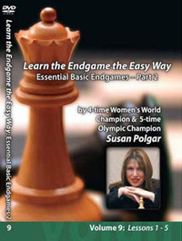 Susan Polgar:, 9: Essential Basic Chess Endgames Part 2 DVD