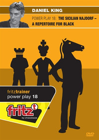 Power Play 18: The Sicilian Najdorf, A Repertoire for Black - Chess Opening Trainer on DVD