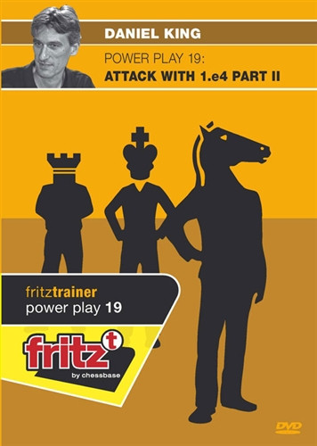 Power Play 19: Attack with 1.e4 (Part 2) - Chess Opening Software on DVD