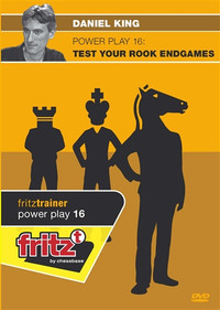 Power Play 16: Test Your Rook Endgames Chess DVD