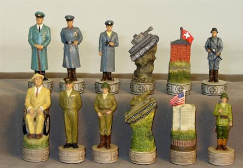 World War II Chess Pieces