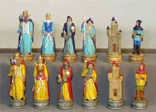 Sorcerers Chess Pieces