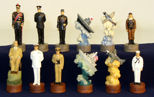 Pearl Harbor Chess Pieces