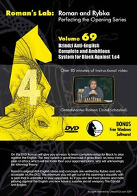 Roman's Labs: Vol. 69, Mastering Chess Series - Anti-English: Complete and Ambitious System for Black against 1.c4 Download