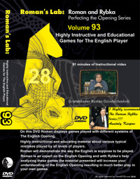 Roman's Chess Labs:  93, Highly Instructive and Educational Games for The English Opening