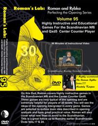 Roman's Lab 95: Scandinavian Defense, 2...Nf6 and 2...Qxd5 - Chess Opening Video DVD