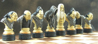 Lord of the Rings Hand Painted Chess Set
