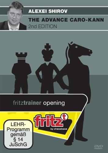 Alexei Shirov: The Advance Caro-Kann, 2nd Edition - Chess Opening Trainer on DVD