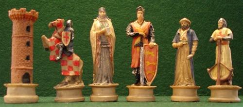 Crusaders and Saladin Chess Set