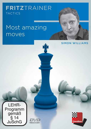simon williams most amazing moves in chess fritz trainer download