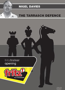 Queen's Gambit: The Tarrasch Defense - Chess Opening Software on DVD