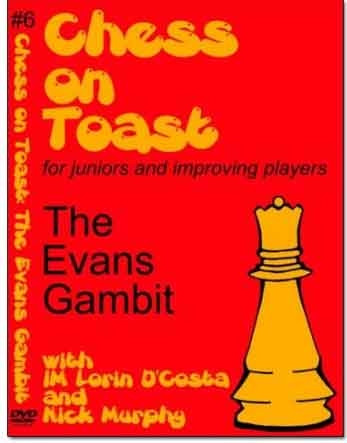Chess on Toast: The Evans Gambit - Chess Opening Video DVD