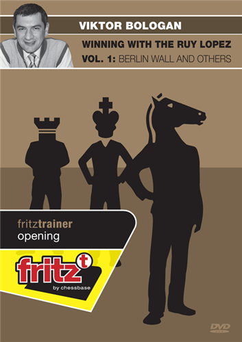Winning with the Ruy Lopez, Vol. 1: Berlin Wall and Others - Chess Software
