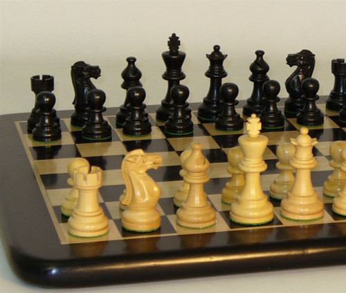 American Emperor Chess Set - Chess Pieces and Matching Chess Board