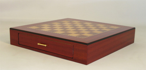 Ariosto - Rosewood Chess Chest with Inlaid Chess Board