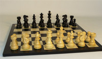 Black Lardy Classic and Black/Maple Chess Board