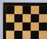 Black and Birdseye Maple Chess Board