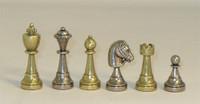 Treviso Refinement Chess Set-Metal, Staunton Design