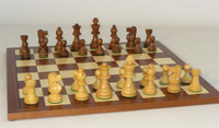 Toulon Chess Set - Chess Pieces and Matching Chess Board