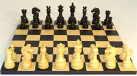 Black Lotus Chess Set - Chess Pieces and Matching Chess Board