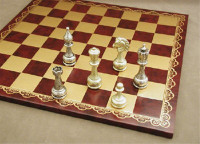 Treviso Refinement Chess Set - Chess Pieces and Matching Chess Board WW-D-S-82M-203GR