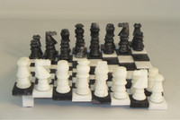 The Staircase - Alabaster Chess Set