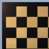 "Black and Maple Chess Board, 2"" squares ww1-50440B"