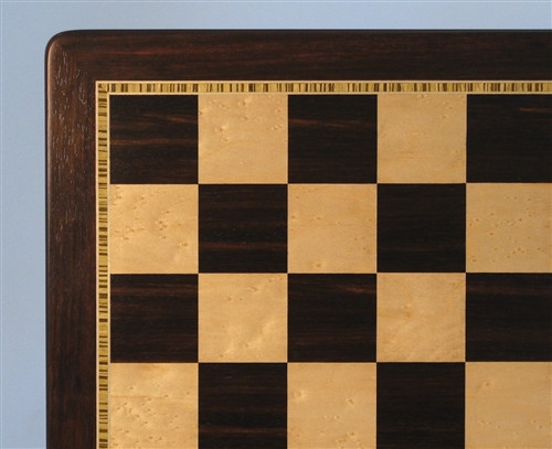 "Ebony and Maple Chess Board, 2.2"" squares ww2-55520EBM"