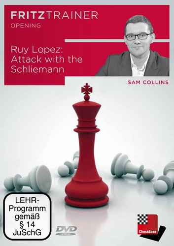 Ruy Lopez: Attack with the Schliemann - Chess Opening Software on DVD
