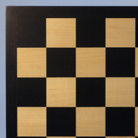Black & Maple Chess Board - 17.25""