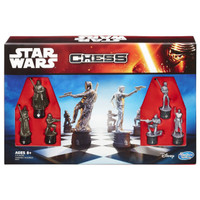 Star Wars The Force Awakens Chess Set Box
