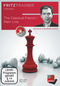 The French Defense, Classical Main Line - Chess Opening Software on DVD