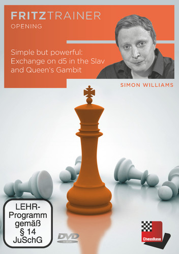 Simple but powerful: Exchange on d5 in the Slav and Queen's Gambit Chess Opening Software