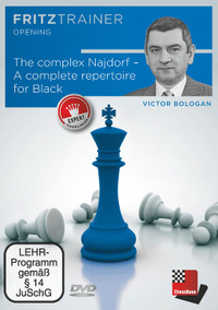 The Complex Najdorf Sicilian - Chess Opening Trainer on DVD