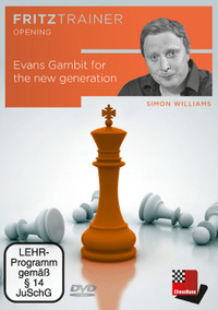 Evans Gambit for the New Generation - Chess Opening Training Software DVD