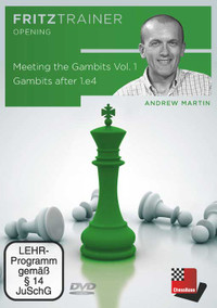Meeting the Gambits Vol. 1 – Gambits after 1.e4 - Chess Opening Training Software DVD