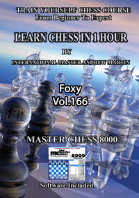 Foxy 166: Learn Chess in 1 Hour - Chess Video on DVD