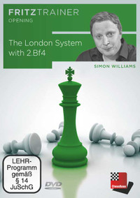 The London System with 2.Bf4 - Chess Opening Training Software DVD