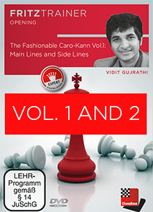 Bundle: The Fashionable Caro-Kann (Parts 1 & 2) - Chess Opening Software on DVD