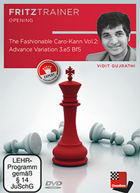 The Fashionable Caro-Kann Vol. 2 - Chess Opening Training Software DVD