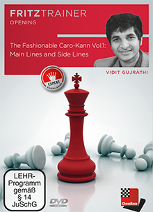 The Fashionable Caro-Kann, Vol. 1 - Chess Opening Training Software DVD