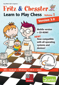 Fritz & Chesster 1 - Learn to play chess Mobile version + CD-ROM