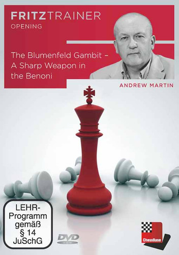Blumenfeld Gambit –  A Sharp Weapon in the Benoni - Chess Opening DVDd