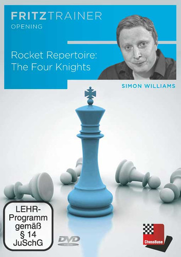 Rocket Repertoire: The Four Knights - Chess Opening Software DVD