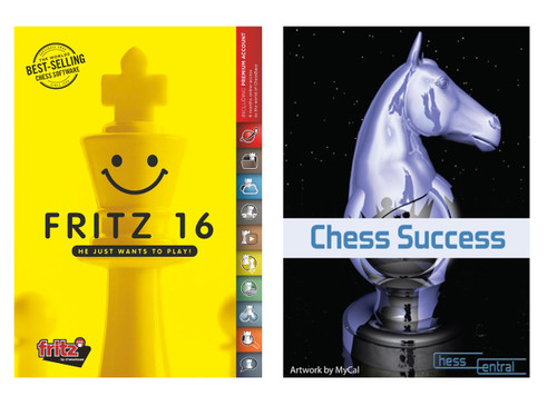 Fritz 16 Chess Playing Program on DVD - plus Chess Success Training Software