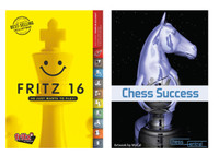 Fritz 16 Chess Playing Software Program Bundled with Chess Success Training Software