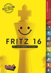 Fritz 16 - Chess Playing Software Program on DVD