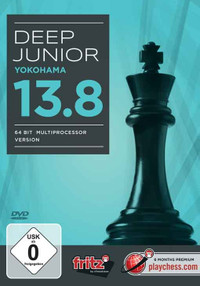 Deep Junior 13.8 åÐYokohama  Chess Playing Software Program for Download